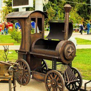 Поезда-Мангалы