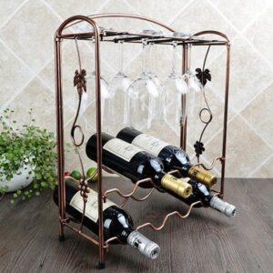 Кованные подставки под вино